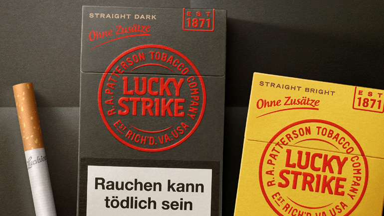 LUCKY STRIKE DARK & BRIGHT
